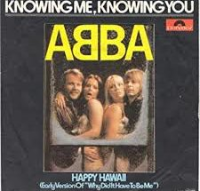 Music: ABBA - Knowing Me Knowing You
