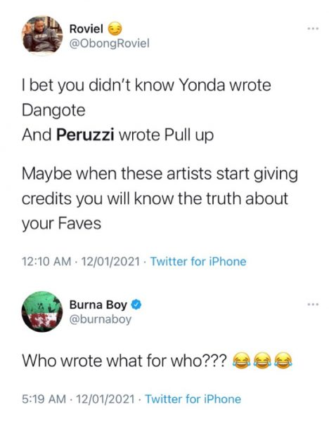 NEWS - Burna Boy Dragged For Not Giving Credit