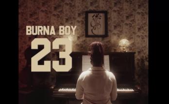 "Burna Boy – 23 ""Video"" Download - www.djitunez.com"