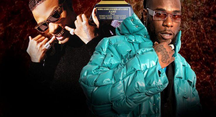 Burna Boy And Wizkid | Creates History at 2021 | Grammys - DJITUNEZ.COM
