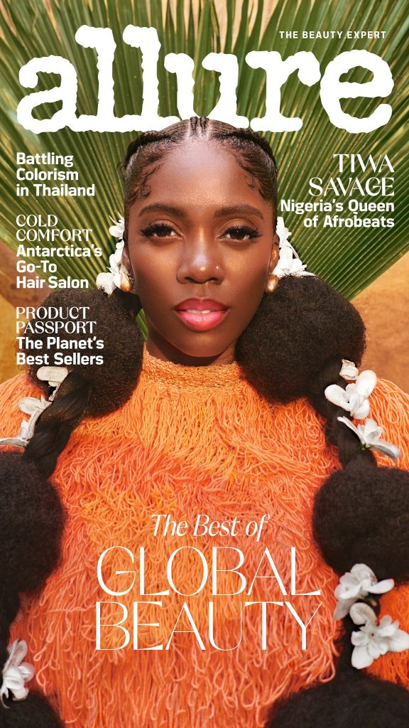 Tiwa Savage The Queen Of Afrobeat On Allure Cover