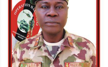 Chief Of Army Staff Maj Gen Farouk Yahaya