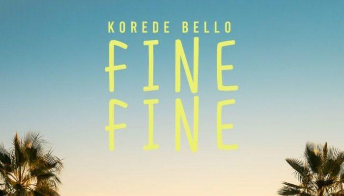 Korede Bello - Fine Fine - MP3 Download